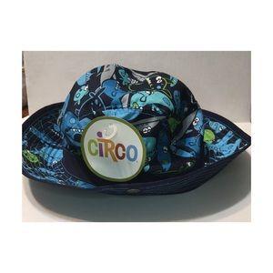 NWT Circo Bucket hat blue sharks